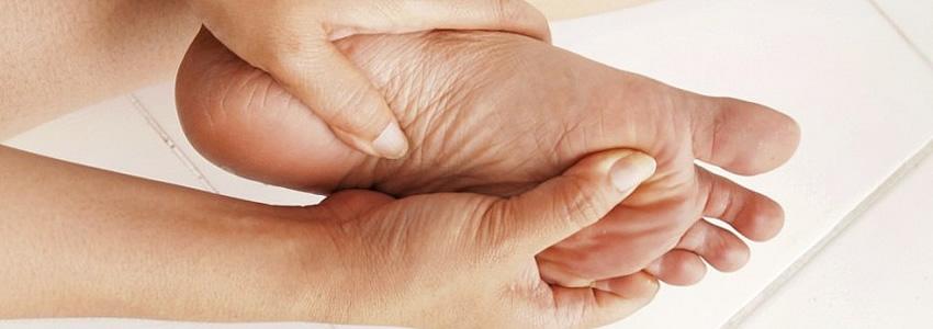 Lesión en dedos de los piés