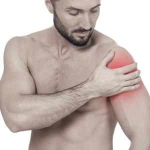 Lesión en hombro