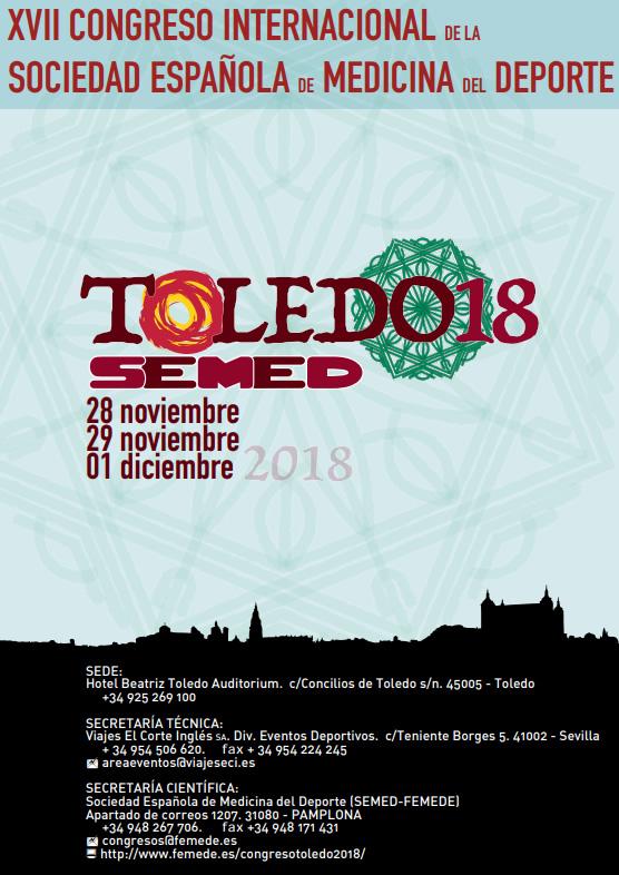 XVII Congreso Internacional de la Sociedad Española de Medicina del Deporte