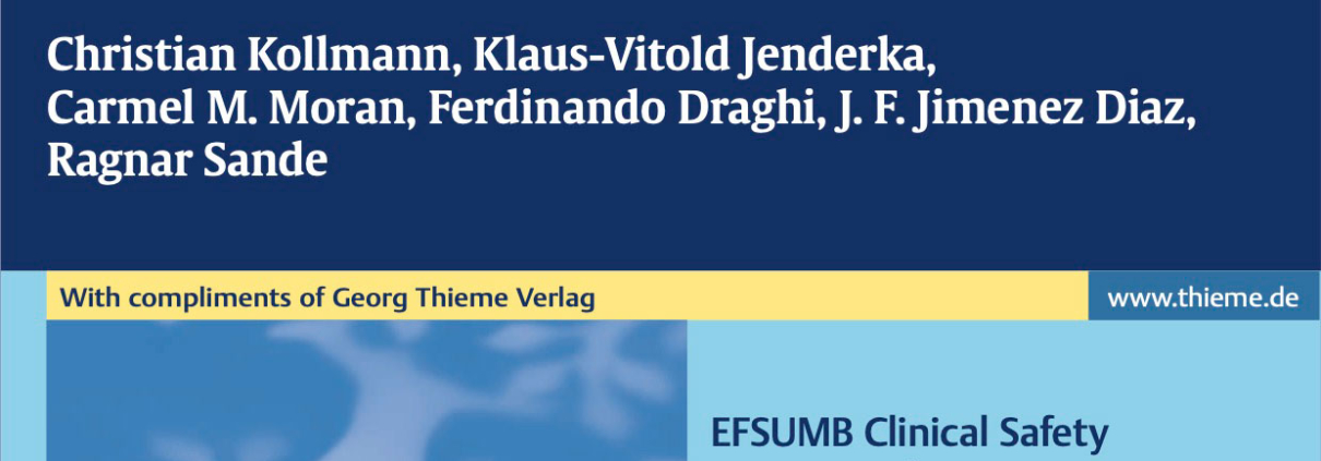 EFSUMB Clinical Safety Statement for Diagnostic Ultrasound